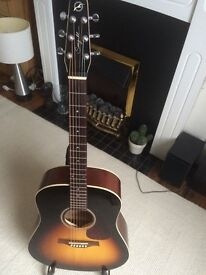 Seagull S6 Acoustic Guitar, with gig bag, vgc!
