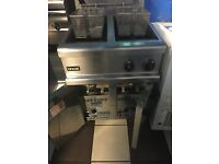 Lincat gas fryer double thank