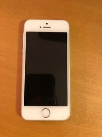 iPhone 5s Silver 16gb Unlocked to all networks