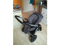 Maxi Cosi Mura 3 Stroller with pram and seat