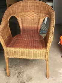 Ikea Wicker Chairs