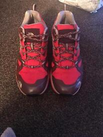 Ladies north face goretex walking shoes