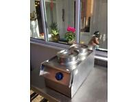 Two pot dry Bain marie