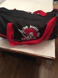 Girls pink Taekwondo sparring kit