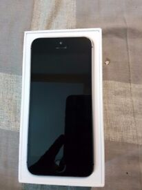 IPHONE 5S 16GB BLACK/GREY UNLOCKED PHONE BOXED