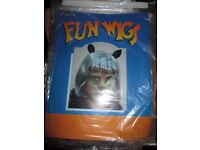 LADIES OR GIRLS GREY HAIRED CAT WIG WITH EARS GREAT FOR FANCY DRESS PARTY OR HEN DO
