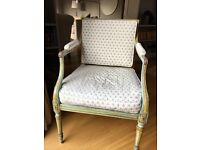 Pair of Antique Painted Louis XVI Style Chairs (style 2)