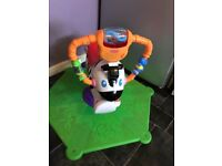 Fisher-Price Interactive Bounce 'n' Spin Zebra - Baby/Toddler Ride & Jumping