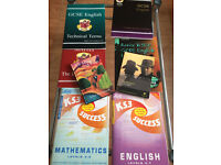 GCSE Revision Books (English, Maths, Science)