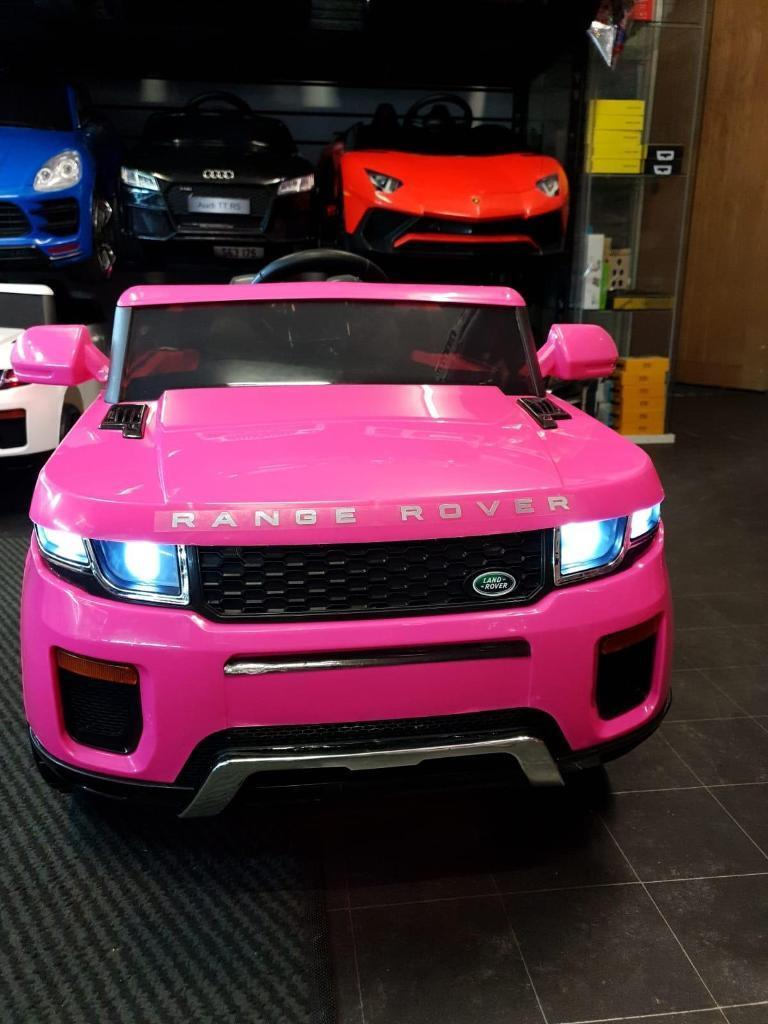ff51e73b1d3 PINK RANGE ROVER EVOQUE STYLE KIDS RIDE ON CAR 12V REMOTE CONTROL   MUSIC  ONLY £145