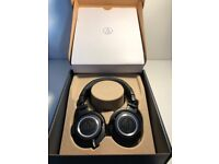 Audio Technica ATH-M50x Professional Studio Over-ear Headphones, Boxed