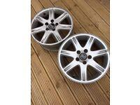Volvo Alloy wheels x 2