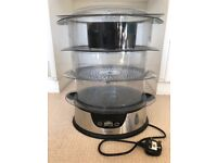 John Lewis Electric Steamer, 3 tiered