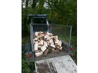 FIREWOOD approximately 1 cubic metre all hardwood ready to burn no rot