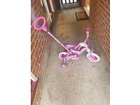 My little pony bike.