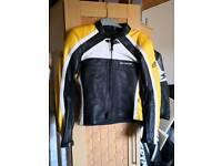 Ladies HG leather motorcycle jacket