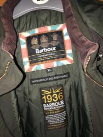 Mens XL Barbour Coat