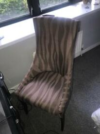 Beauty's chair