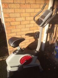 Pro-Form Exercise Bike. Used only 2 or 3 times. Cost around £300 when new.