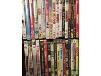 Collection of DVDs and films etc.