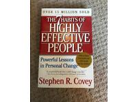 Top selling book: 7 habits of highly effective people by Stephen Covey