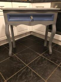 Shabby Chic Dressing Table with Drawer