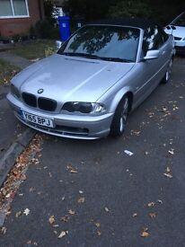 BMW e46 2.5 convertible