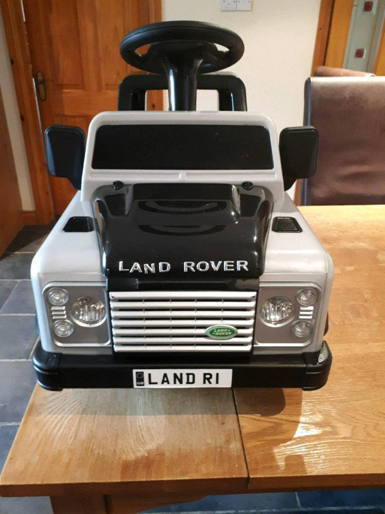 Toy Land Rover Defender Electric Ride On Car