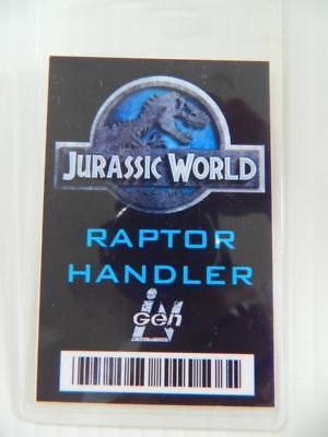 VIE PROP - ID/Security Badges (Jurassic World - Raptor Hand) (Movie World Halloween)