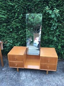 Retro Dressing table & bedside table