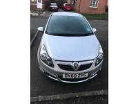 1.2 Silver Vauxhall Corsa for Sale!