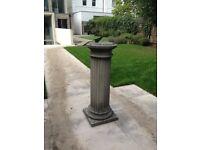 Roman Stone Column Sundial