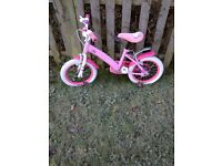 Hello Kitty Bike And Helmet