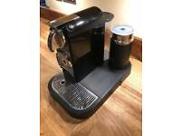 Nespresso magimix Citiz coffee machine with milk frother