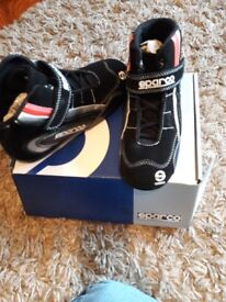 Sparco childs karting boots