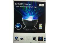 REMOTE CONTROL BABY/TODDLER BEDTIME PROJECTOR LIGHT WITH BUILT-IN MUSIC PLAYER