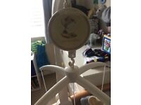 Mamas and Papas musical baby mobile for cot
