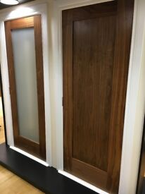 Super sale on pre finished walnut shaker 1 panel doors