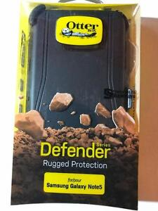 Note 5 Defender Black otterbox samsung new