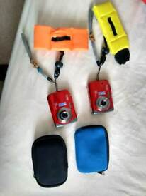 Waterproof camera x 2