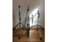 YAMAHA CYMBAL STANDS 1x hi hat stand 3x cymbal stand