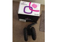 Quinny buzz all terrain air front wheel/tyre, in good used condition with minimal wear to tread