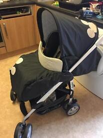 Hauck Mickey Mouse travel system