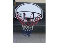 Basketball Net & Backboard Full size