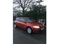 Renault Megane Dynamique 1.5 DCI 2006/56 Spares or Repairs RUNS AND DRIVES