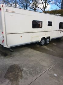 2006 Bailey Senator Wyoming Caravan, 4 berth, fixed bed, twin axle, end washroom, with motor mover