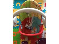 Swing and play mat