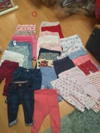 Baby trousers 3-6 month 30 pairs
