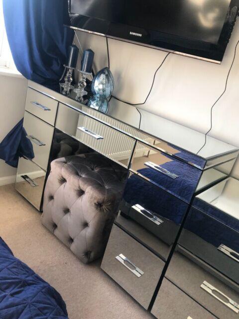 Mirrored Bedroom Furniture Set Dressing, Mirrored Dressing Table Set Gumtree