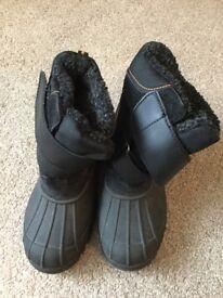 Children's winter snow boots